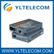 Convertidor de medios de fibra óptica de fibra única 20/40/60 / 80KM Single-Mode