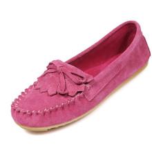 Zapatos ocasionales rojos de moda para las mujeres