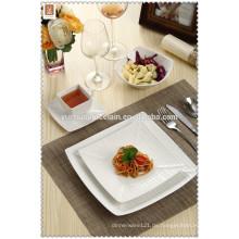 2015 Großhandel quadratischen Form neue Design Porzellan Abendessen gesetzt