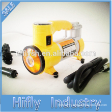 HF-6030 Car Air Compressor High-quality High-power Automotive Air Compressor Single cylinder with light (CE Certificate)