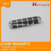Íman em forma de vaca quliaty elevado superior D35x100mm