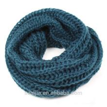 Echarpe en hiver tricotée Ladies ombre