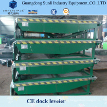 15t Container Car Loading Lifting Table Ramp