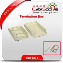 Caja de bornes de fibra óptica de alta calidad W-4c / caja de distribución de fibra óptica