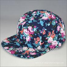 Chapéus personalizados de 5 painéis personalizados