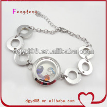 316 perles en acier inoxydable bracelet en gros