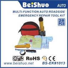 Kit d'urgence 28PCS au bord de la route pour voiture