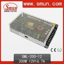 200W 12VDC 16.7A AC/DC Power Supply SMPS Designed for LED