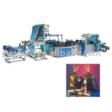 Microcomputer Ribbon-through Type Garbage Bag-making Machine