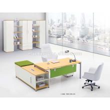 Escritorio de oficina moderno del marco del metal de los muebles de la nueva calidad del diseño