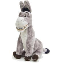 Juguetes de peluche de peluche nuevo producto juguetes de felpa de burro