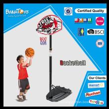 Real action basketball rack play set