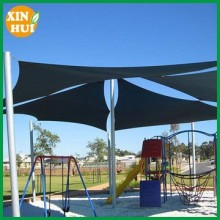 awnings sunshade sail in beige colour with D-rings