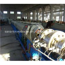A melhor fonte de água plástica de venda do HDPE / tubulação de gás que faz a linha da máquina