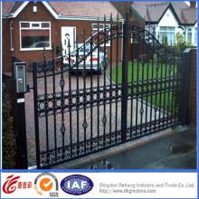 Elegantes puertas de metal de calidad superior
