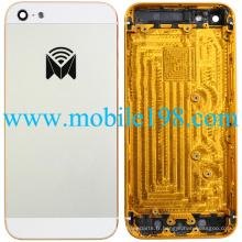 Nouvelle couverture arrière de logement de marque blanche pour l'iPhone 5