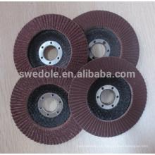 disco de aleta de respaldo de fibra de vidrio
