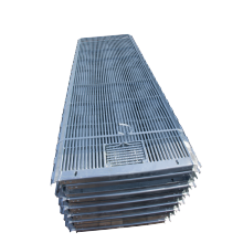 Good load-bearing leakage triangular steel pig floor for farrowing pigs
