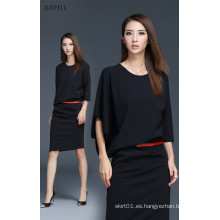 Vestido de oficina de diseño de moda para señoras