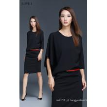 Design de moda fotos escritório vestido para senhoras