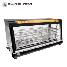 Commercial 3/4 Layer Warmer Showcase Hot Food display cabinets
