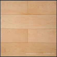 Plancher en bois d'érable massif / plancher de bois