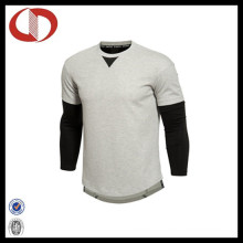 Long Sleeve Custom Made Latest Sports T Shirt Design