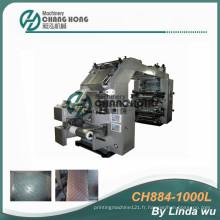 Machine d'impression flexographique Alumfoil (CH884-1000L)