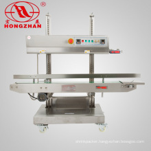 Hongzhan CBS1100V Vertical Continuous Band Sealer for Big Stand Pouch