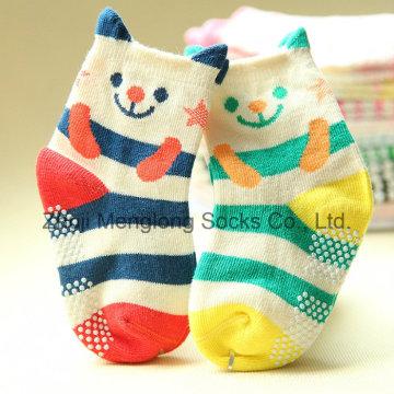 Милый мультфильм 3D манжеты детские носки с анти пропуск точек