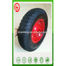 16inche lug pattern pneumatic rubber wheel ,4.00-8 air wheel ., wheelbarrow wheel4.80/4.00-8