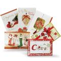 Hochwertige Weihnachts-kundenspezifische Gruß-Karte
