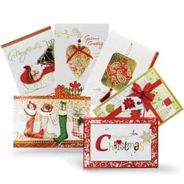 Tarjeta de felicitación de encargo del navidad de la
