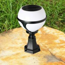 2013 горячей продажи открытый CE солнечное освещение мяч форму настенный светильник для Сад, газон