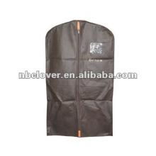 Alta qualidade capa de terno de poliéster preto