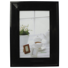 Marco de fotos 4x6inch Simple y clásico negro