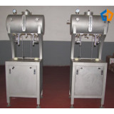 Beer filling machine with 2 heads