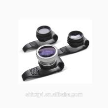 Lente de clipe universal para câmera blackberry, bem como lente grande angular m12