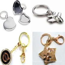 2014 Novo Design 3D Die Casting Gold Silver Zinc Alloy Photo Keychain para Promoção (Gzhy-Kc-004)