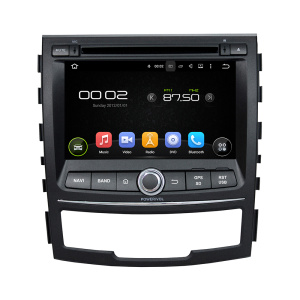 Android 7.1 SsangYong Korando Car Audio Electronics