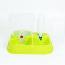 Plastic pet feeder cat dog drinker wholesale