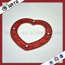 Heart-Shape Curtain Buckles With Diamond Crystal Curtain Hook