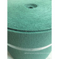 Green color scourer in roll, scourer pad roll for sale