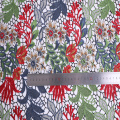 Neues Modedesign Polyester Multicolor Chemical Lace Fabric