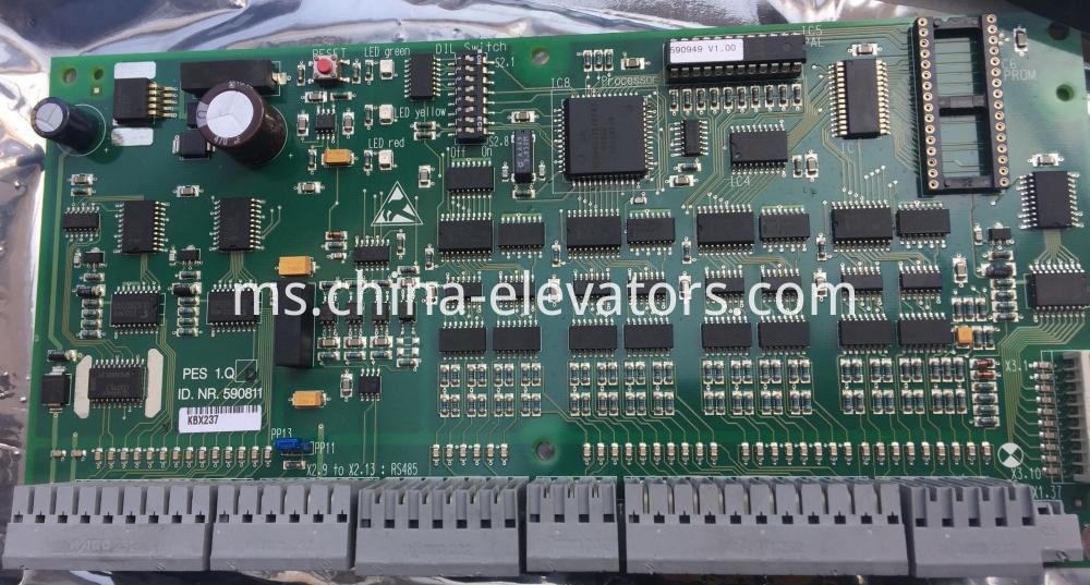 Schindler 9300 Escalator Mainboard 590811