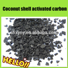 4-8 mesh coconut shell granular activated carbon for alcohol purification