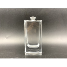 perfume glass empty bottles flat square cosmetic bottles