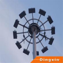 14m 18m, 20m, 25m, 35m 40m éclairage public 30m haut mât d'éclairage / haut mât prix d'éclairage