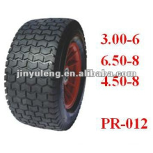 mower wheel Beach car wheel ,Trailer wheel, rubber wheel 3.00-6 6.50-8 4.50-8