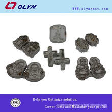 OEM precision casting product of stainless steel artworks accessories parts